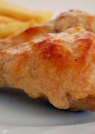Kaşarlı tavuk baget