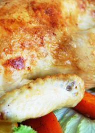Portakallı fırında tavuk kızartma
