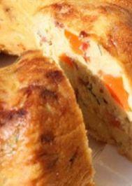 Patatesli tavuklu tuzlu kek