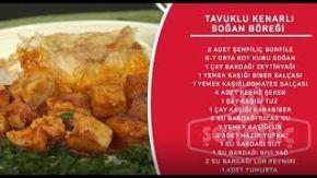 Sahrap Soysal İle Tavuklu Tarifler - Tavuklu Kenarlı Soğan Böreği