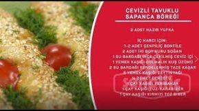 Sahrap Soysal ile Tavuklu Tarifler - Cevizli Tavuklu Sapanca Böreği