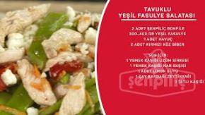 Sahrap Soysal ile Tavuklu Tarifler - Tavuklu Yeşil Fasulye Salatası